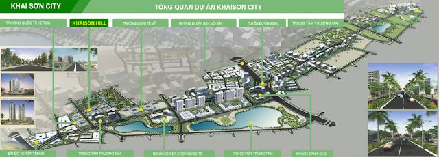 Tổng quan dự án Khai Sơn City
