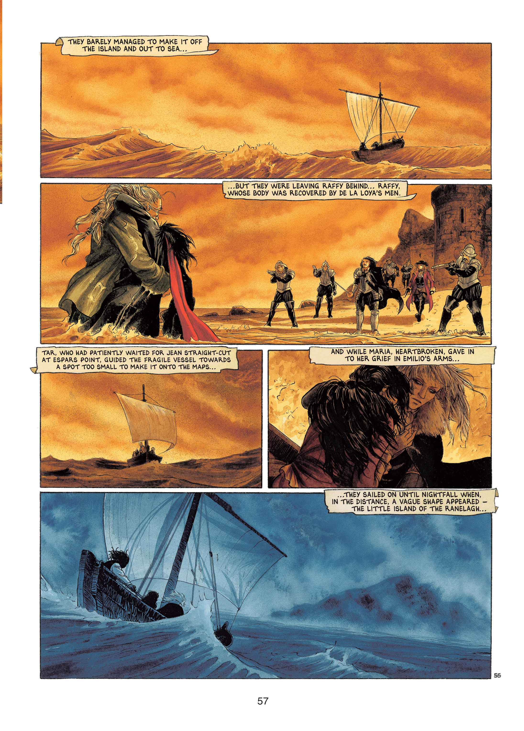 Read online Barracuda comic -  Issue #4 - 58