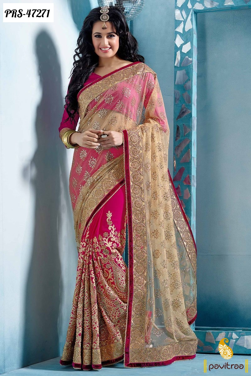 Topless 10 New Arrival Sarees Designs 2016 Collection In -4890