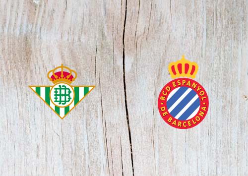Real Betis vs Espanyol  - Highlights 29 April 2019