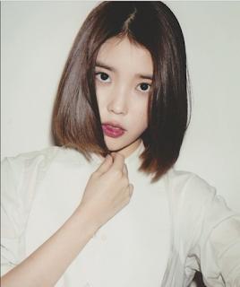 Gaya Rambut Bob Artis Korea UI