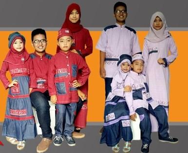 Baju Muslim Anak Poeti sarimbit