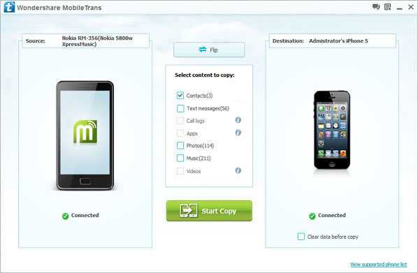 transfer nokia contacts to samsung galaxy ace