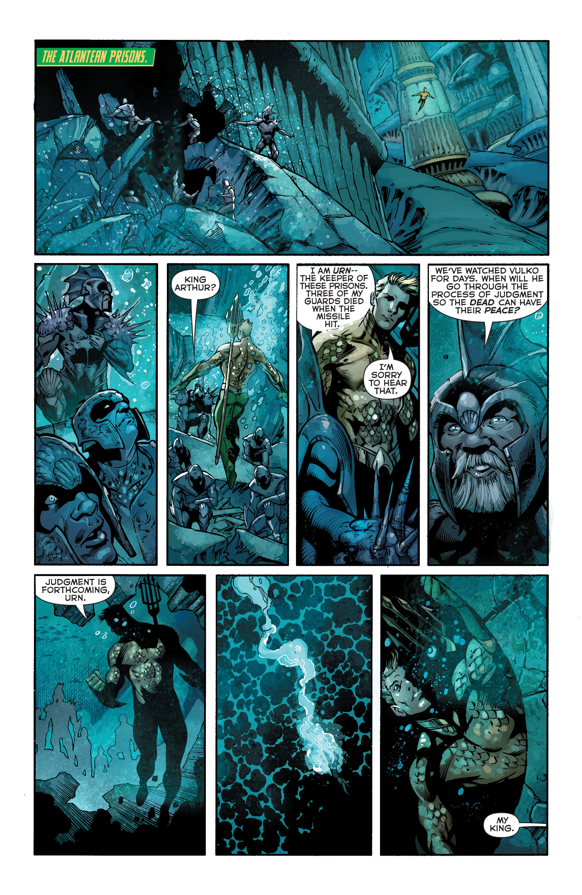 Read online Aquaman (2011) comic -  Issue #18 - 13