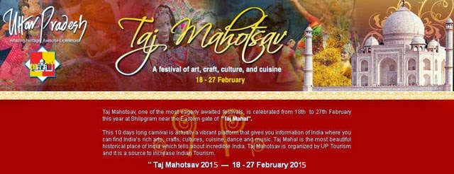 Taj Mahotsav Festivals 2015