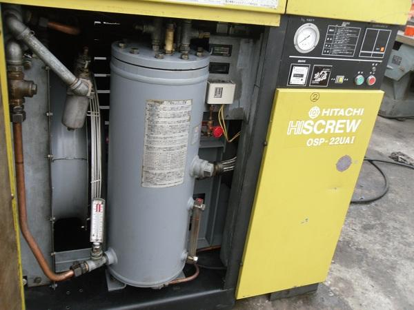 chuyên cung cấp máy nén khí trục vít cũ Hitachi nhật bản