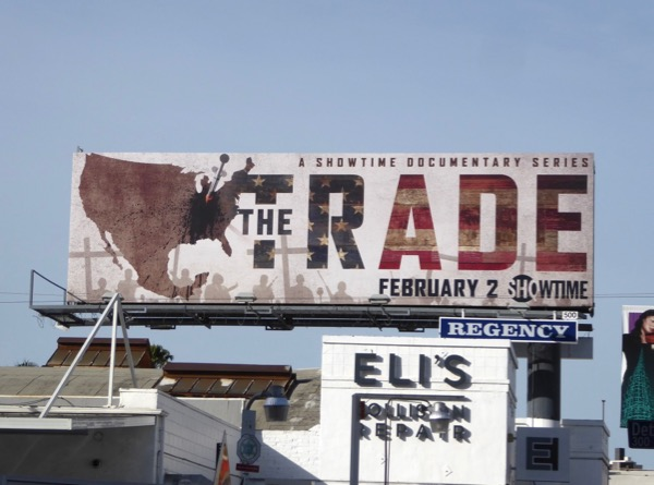 Trade series premiere billboard