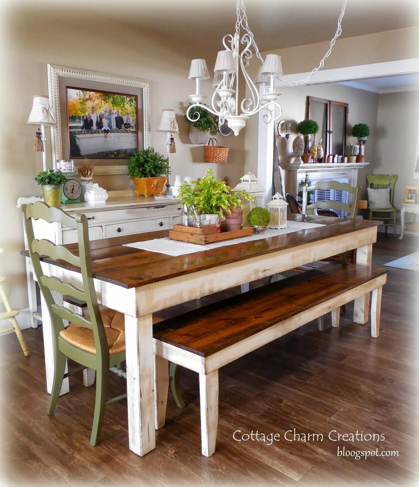 Tables Chairs: Cottage Charm Farmhouse Collection: Provincial Farmhouse