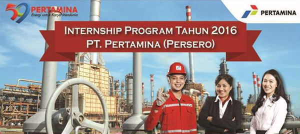 Program Internship (Magang) PT Pertamina