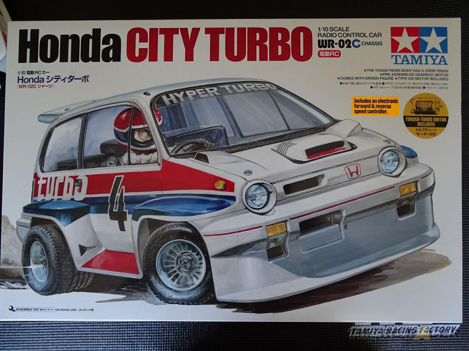 Tamiya 58611 Honda City Turbo Build and review | The RC Racer