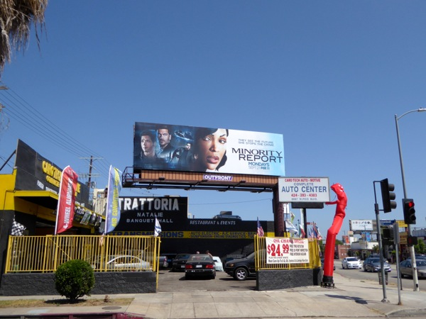 Minority Report season 1 billboard