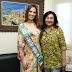 DOURADOS| Délia recebe visita de Miss Mato Grosso do Sul