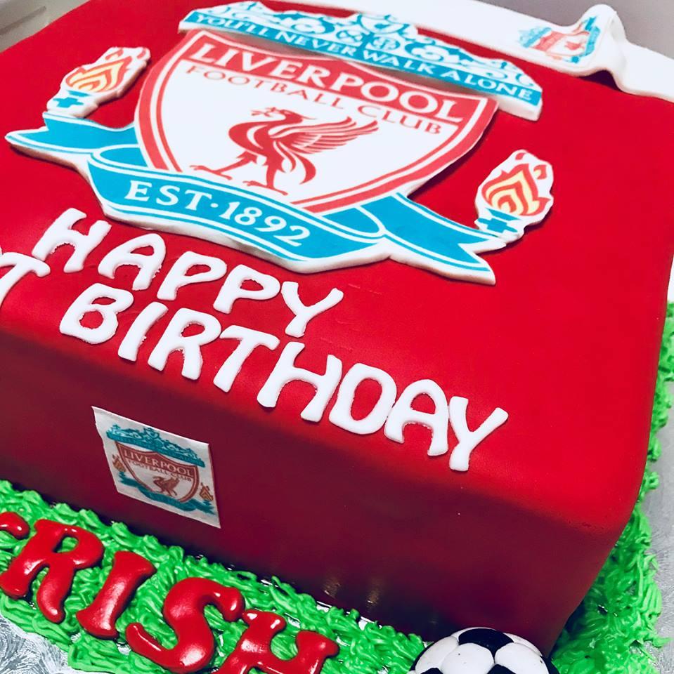Izahs Kitchen Liverpool Cake Halal Cake Singapore