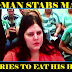 """""""I'M A SERIAL KILLER"""": Craigslist Woman STABS Date On Motel Bed And Tries To EAT HIS HEART!!"""