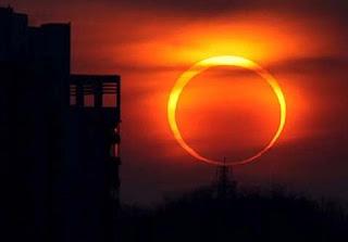 Fenomena Terjadinya Gerhana Matahari Cincin
