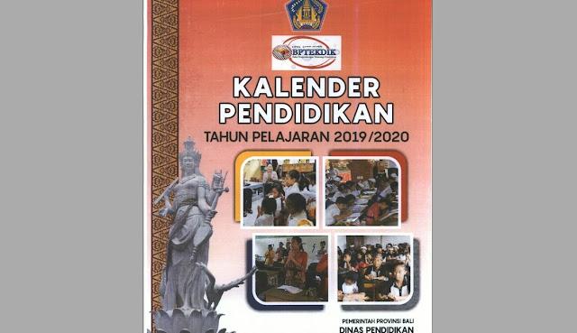 kalender pendidkan nasional