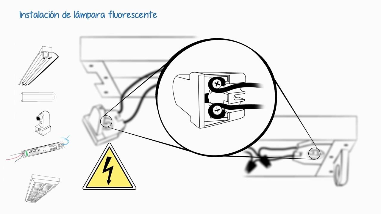 Instalaciones eléctricas residenciales - Conectando los portalámparas