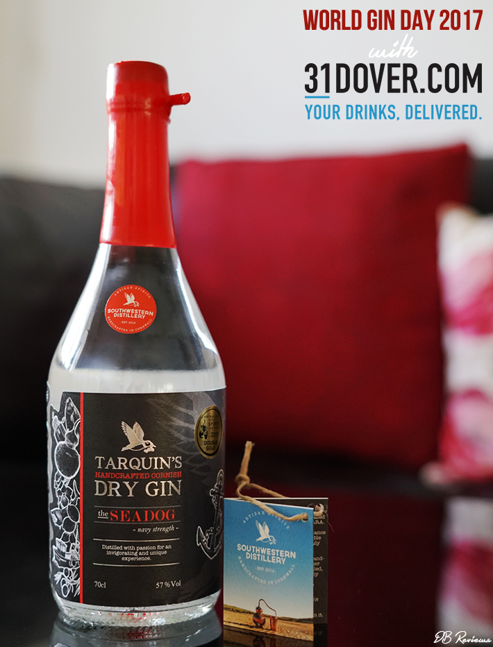 Tarquin's 'The Seadog' Navy Strength Gin | World GIn Day 2017