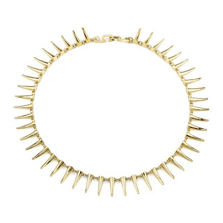 Choker for the Modern Woman - Gabrilea Artigas Mini Tusk Choker - Jewellery Blog