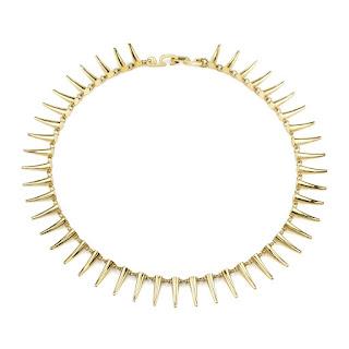 Choker for the Modern Woman - Gabrilea Artigas Mini Tusk Choker - Jewellery Blog