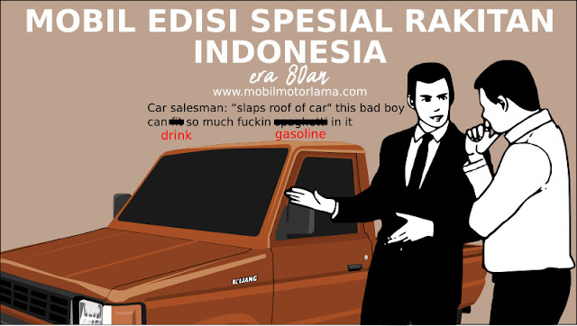Mobil Edisi Spesial Rakitan Indonesia Era 1980-an