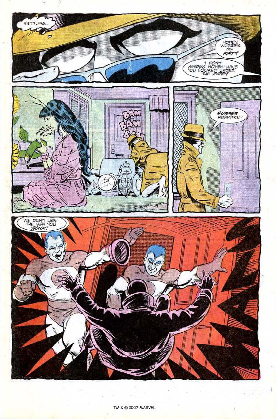 Read online Silver Surfer (1987) comic -  Issue #8 - 5