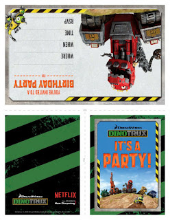 Dinotrux birthday party ideas
