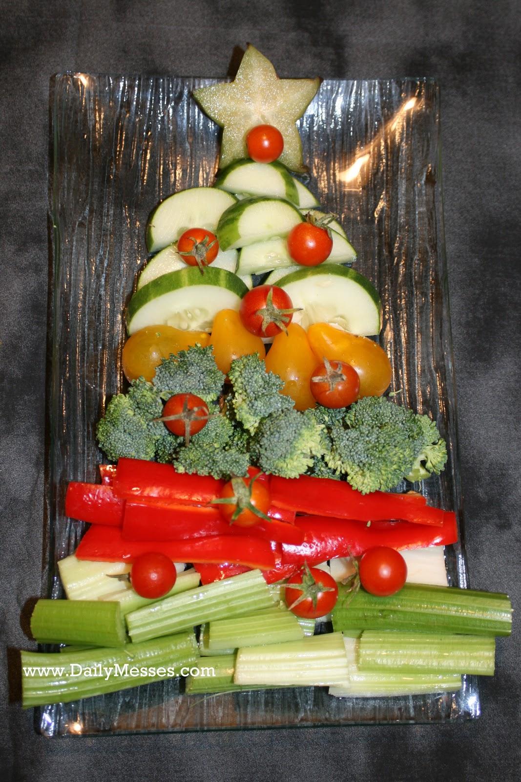 Christmas Tree Veggie Tray.Daily Messes Christmas Tree Veggie Tray