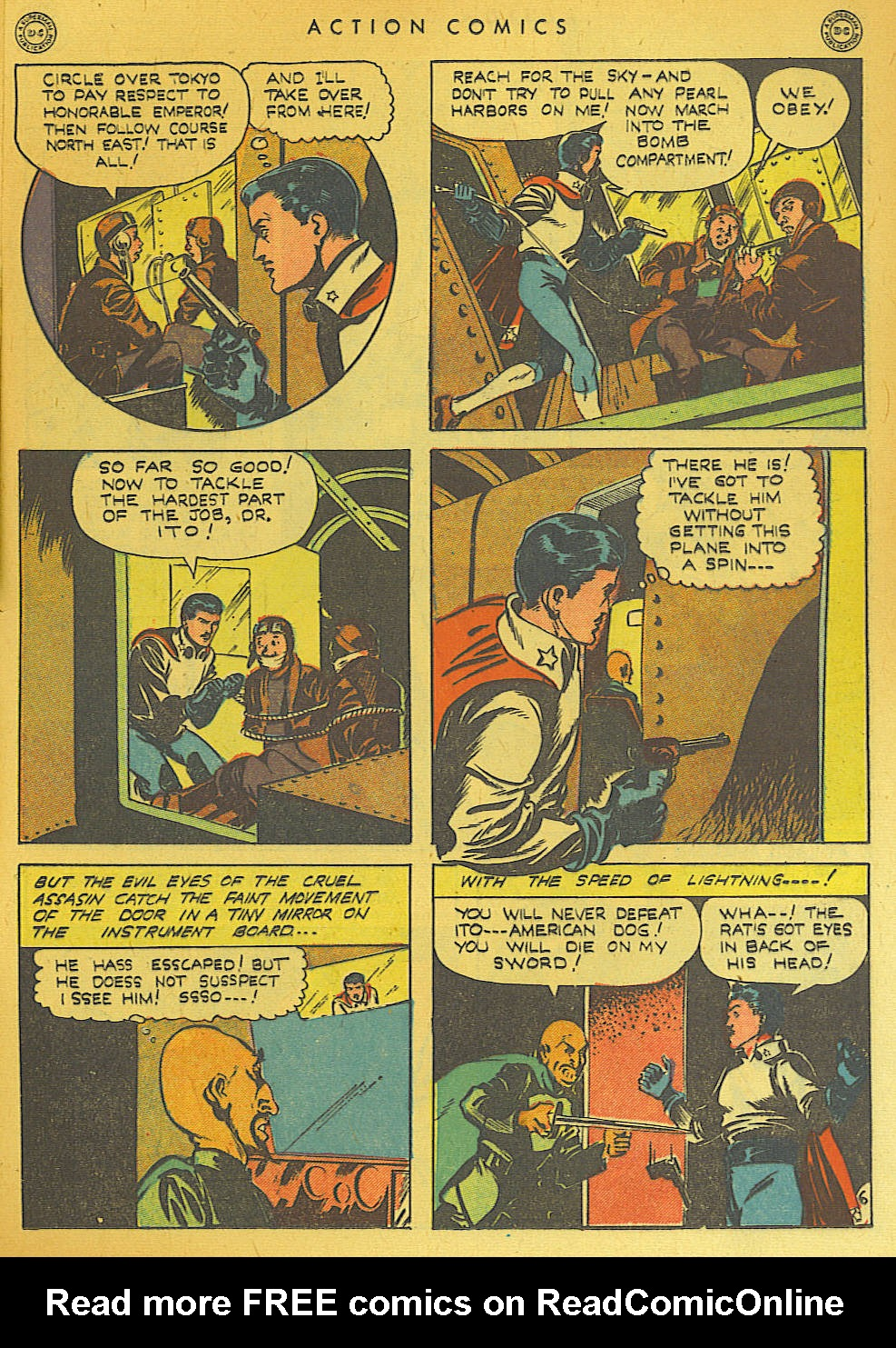 Read online Action Comics (1938) comic -  Issue #74 - 45