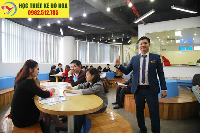 Lớp học illustrator tại Trung tâm đào tạo đồ họa Việt Tâm Đức