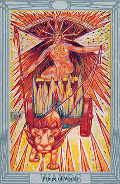 The Prince of Wands Thoth Tarot