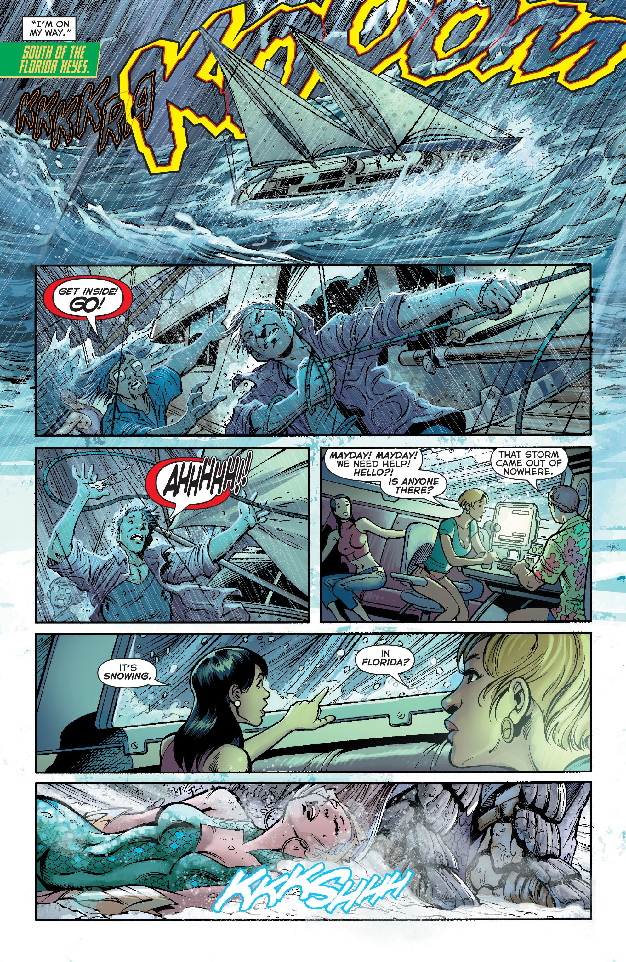 Read online Aquaman (2011) comic -  Issue #19 - 13