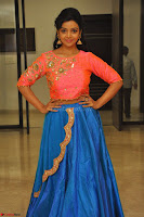 Nithya Shetty in Orange Choli at Kalamandir Foundation 7th anniversary Celebrations ~  Actress Galleries 141.JPG