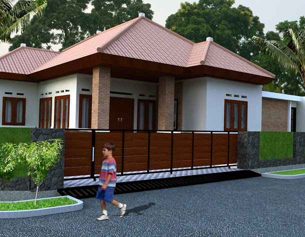 Gambar-Rumah-Sederhana-Model-Pedesaan-Minimalis