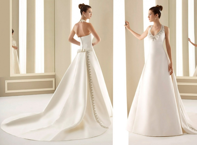 Simple Elegant Wedding Dresses Collections: Fashion World: Wedding Dress Collection 2010-2011 By