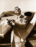 El piloto Kenneth Arnold en 1947