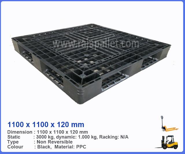 Pallet Plastik Bekas 1100x1100x120 mm