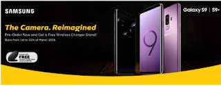 MTN and 9Mobile are Giving Out Free 2GB Data, Free Wireless Charger + 6 Months 100% Data Bonus on Samsung Galaxy S9/S9+