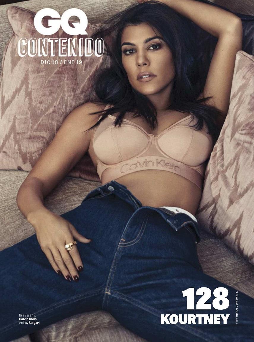 Kourtney Kardashian - GQ Mexico January 2019