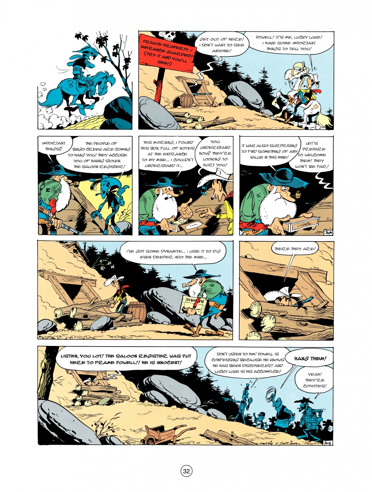 Read online A Lucky Luke Adventure comic -  Issue #2 - 34