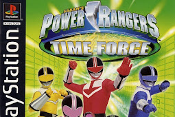 Power Rangers Time Force PS1/ePSXe