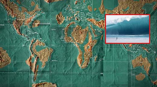 Los impactantes mapas del mundo del Día del Juicio Final y los planes de evacuación de la élite