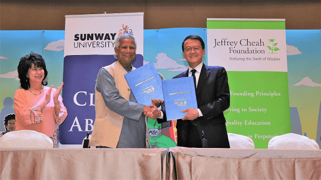 Sunway Education Group, Yunus Social Business Centre, Sunway University,