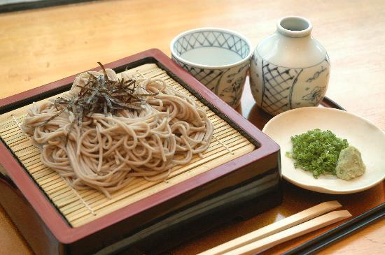 Knifing Forking Spooning: Cold Soba Noodles with Dipping ...