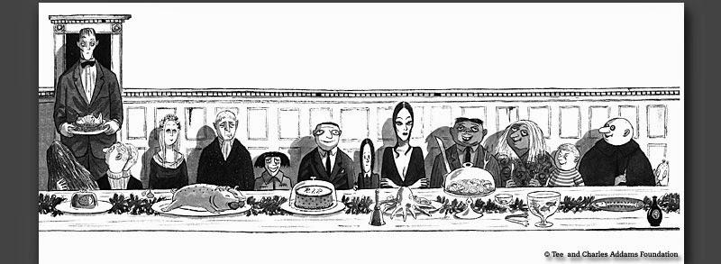 El Cruasán de Audrey: LA FAMILIA ADDAMS I: EL COMICS