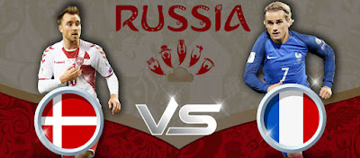 موعد مباراة فرنسا والدنمارك الثلاثاء 26-6-2018 ضمن كأس العالم و القنوات الناقلة