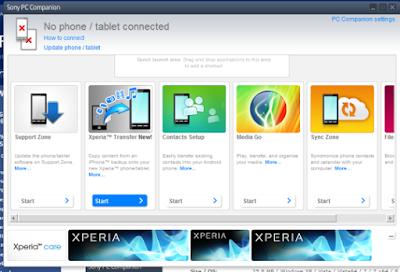 Sony PC Companion V4.1.100 Download Latest Version For Windows