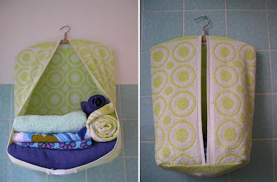 Creative and Cool Ways To Reuse Old Towels (30) 23