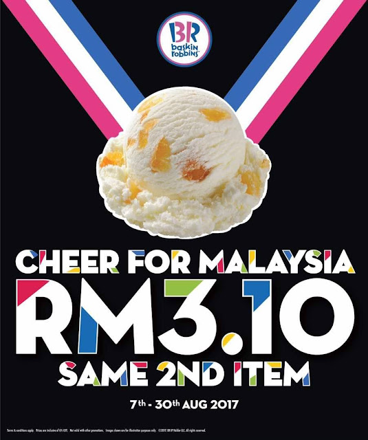 Baskin-Robbins Ice Cream RM3.10 Discount Offer Promo