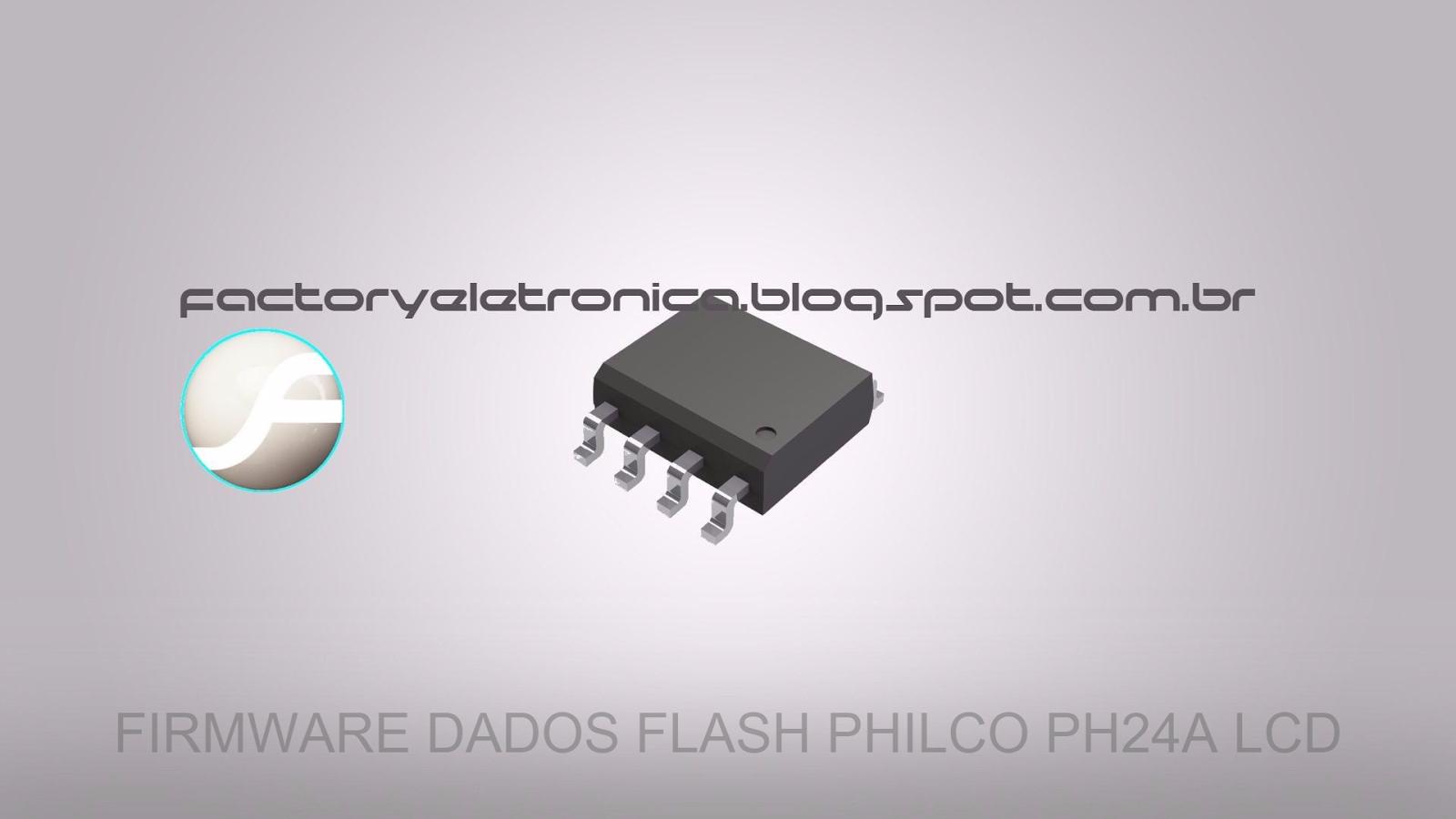 atualização de software firmware tv philco ph24a lcd